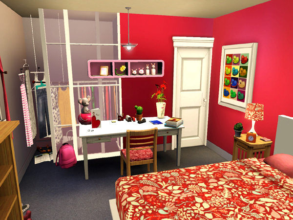 Xooimage for Sims 3 chambre bebe