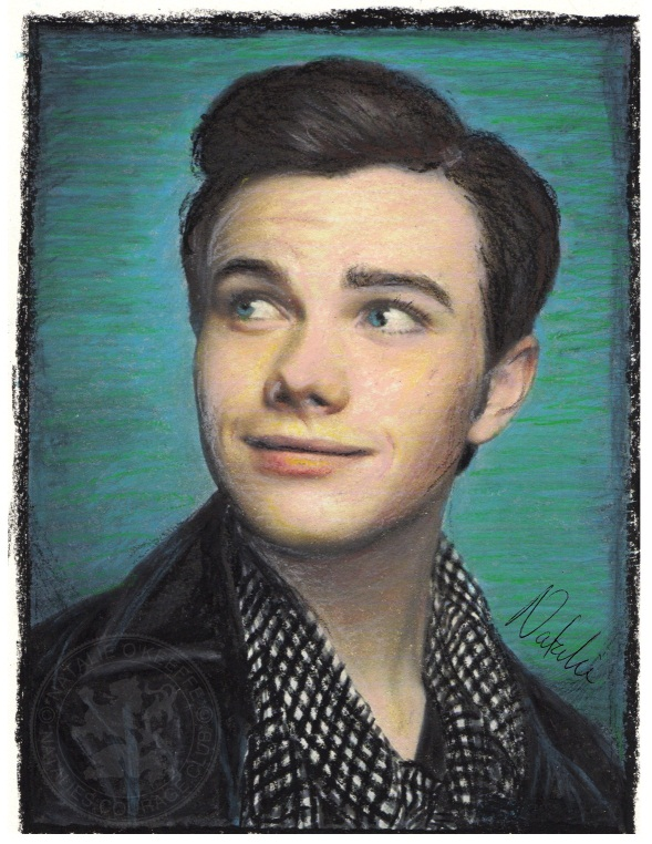 Chris Drawings & paintings Fanarts Chris_colfer___oi...-d4m3eat-31f5f98