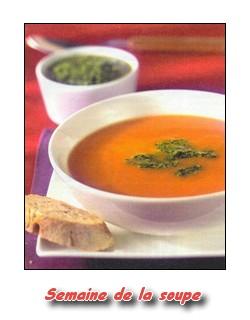 la semaine de la soupe