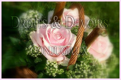 droits devoirs conjugaux - Consommer Mariage Islam