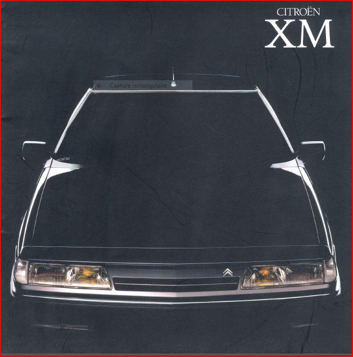 Ctalogue Japonnais de la Citroën XM (N°1) Xm-j1-2bc5205
