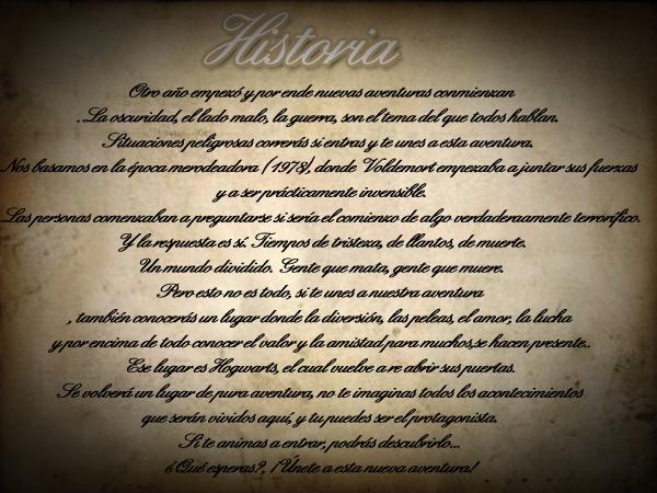 Los Merodeadores [Foro NUEVO] ~ Afiliación Normal.  History-29583c0