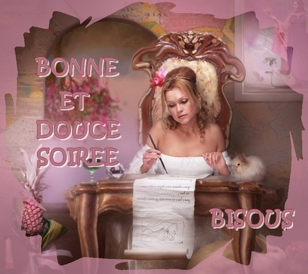 BONNE ET DOUCE SOIRÉE DE LUNDI 20522595-2b8fd22