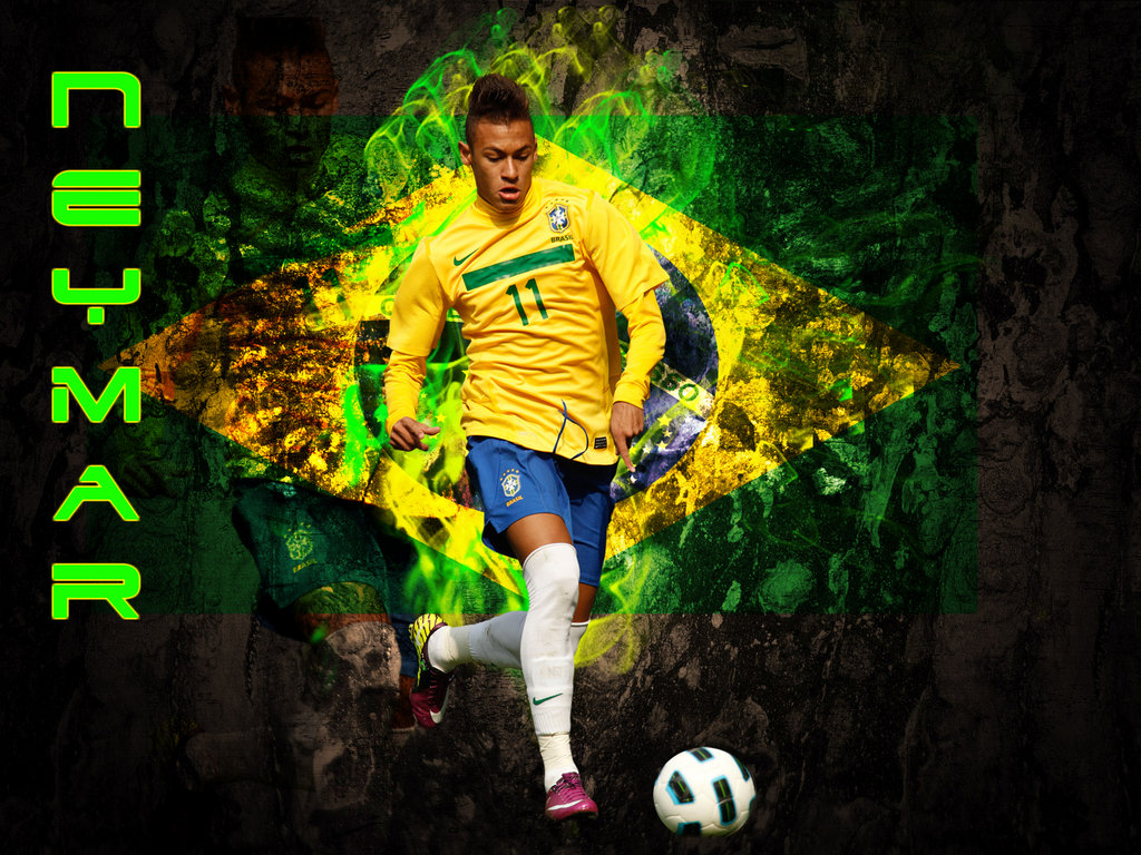 Neymar Wallpaper Brasil
